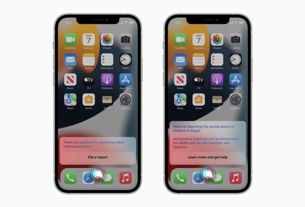 Lutte Apple Contre Pedopornographie Siri et Recherche Apple reporte lanalyse de photos des utilisateurs pour lutter contre la pédopornographie