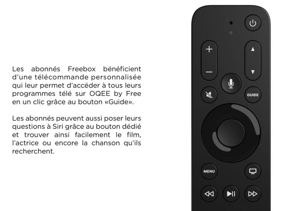 Telecommande Free Pour Apple TV 4K Free propose à lachat sa télécommande pour lApple TV 4K