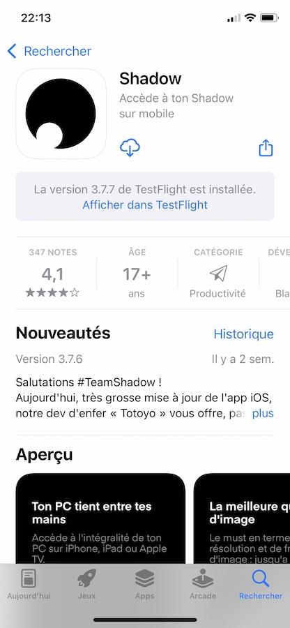 iOS 15 App Store App Test Flight iOS 15 et iPadOS 15 : voici les nouveautés de la bêta 5