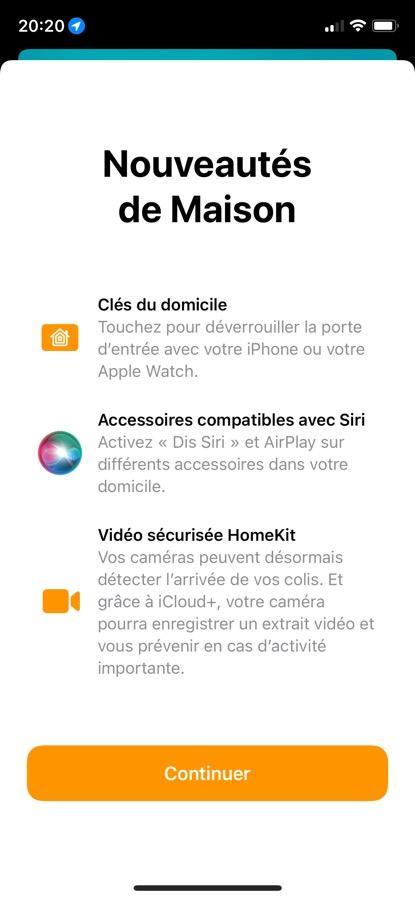 iOS 15 Beta 5 Pop Up App Maison iOS 15 et iPadOS 15 : voici les nouveautés de la bêta 5