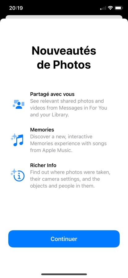 iOS 15 Beta 5 Pop Up App Photos iOS 15 et iPadOS 15 : voici les nouveautés de la bêta 5
