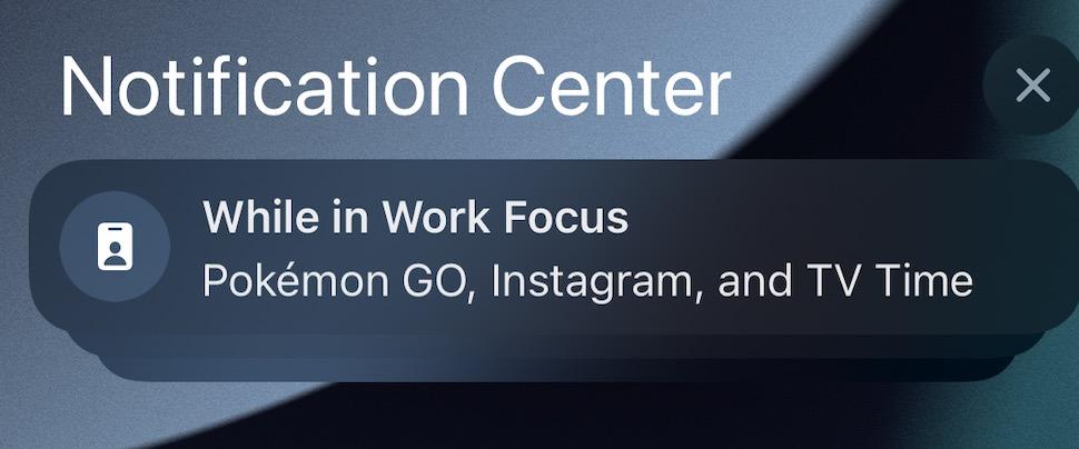 iOS 15 Icone Notifications Focus iOS 15 et iPadOS 15 : voici les nouveautés de la bêta 5