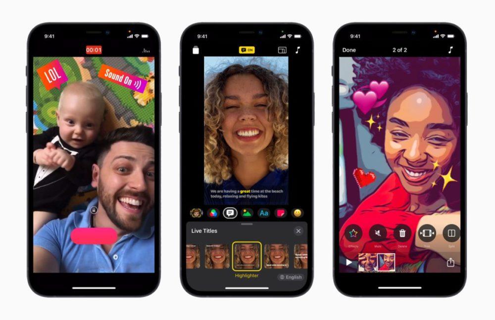Apple Clips iPhone Apple met à jour iMovie et Clips : support du ProRes et du mode Cinématique des iPhone 13 ajoutés