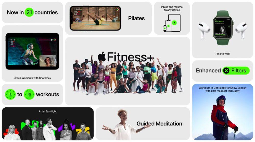 Apple Fitness Plus Nouveautes Apple Fitness+ arrivera dans 15 nouveaux pays, dont la France