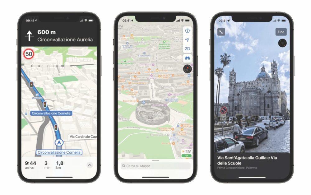 Apple Plans Italie Apple Plans : les nouvelles cartes arrivent désormais en Italie
