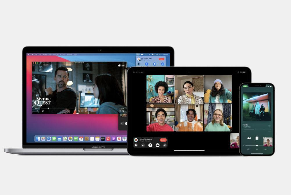 Apple SharePlay sur Mac iPad et iPhone iOS 15.1 bêta 1 : la fonctionnalité SharePlay est de nouveau activée