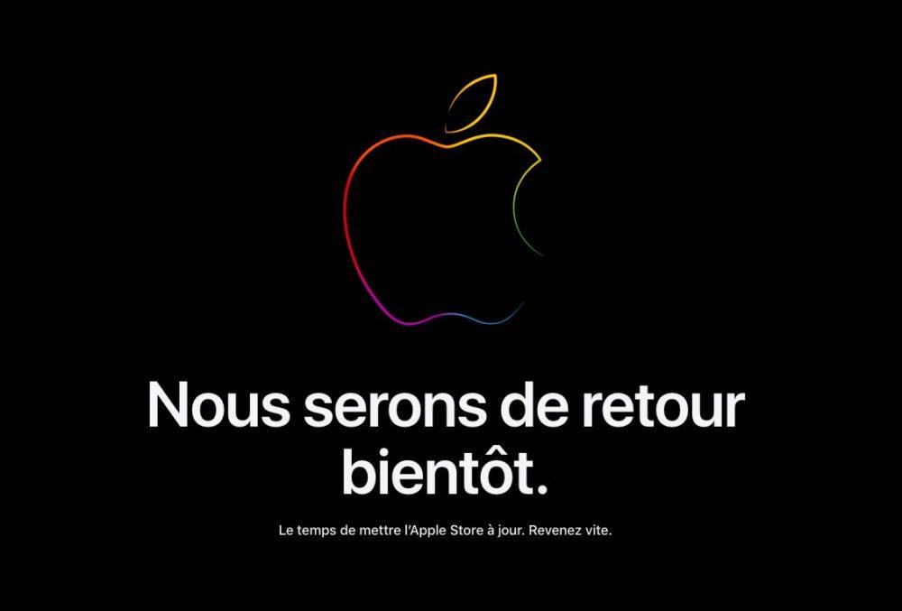 Apple Store Ferme ses Portes Keynote iPhone 13 LApple Store en ligne ferme ses portes avant la keynote de liPhone 13