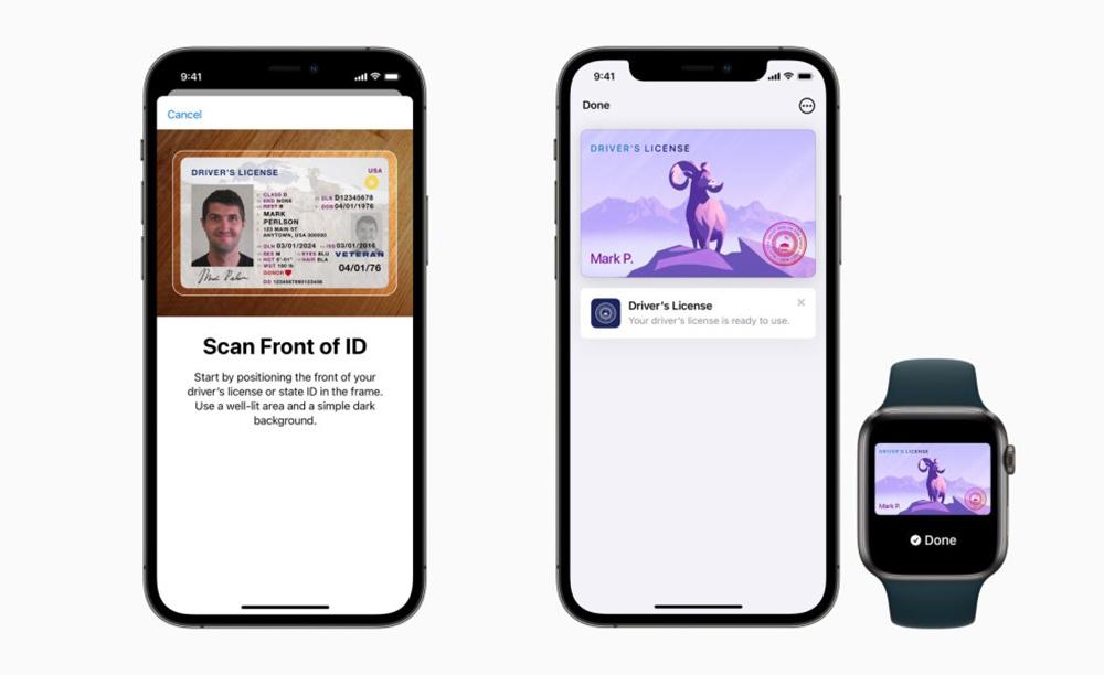 Apple Wallet ID Premiers Etats Eligibles Voici les premiers États éligibles au permis de conduire et carte didentité sur iPhone