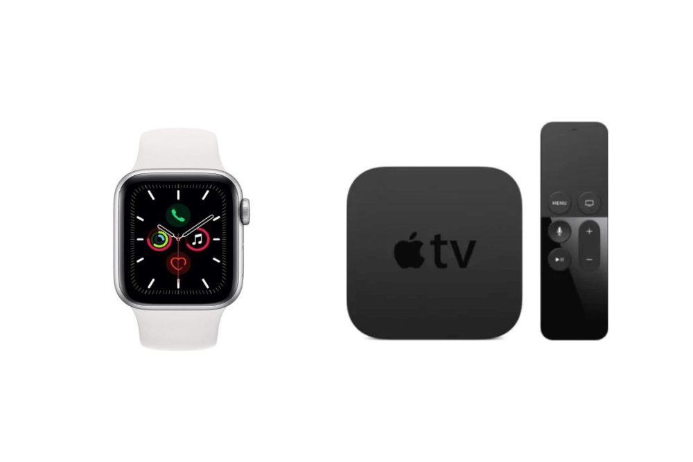 Apple Watch Series 5 et Apple TV 4K Apple publie la bêta 2 développeurs de tvOS 15.1 et de watchOS 8.1
