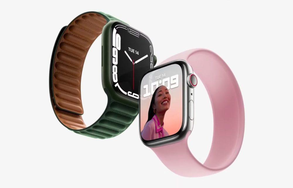 Apple Watch Series 7 Keynote 14 Septembre 2021 Voici lApple Watch Series 7 : design inchangé, écran plus grand, recharge rapide, nouveaux coloris...