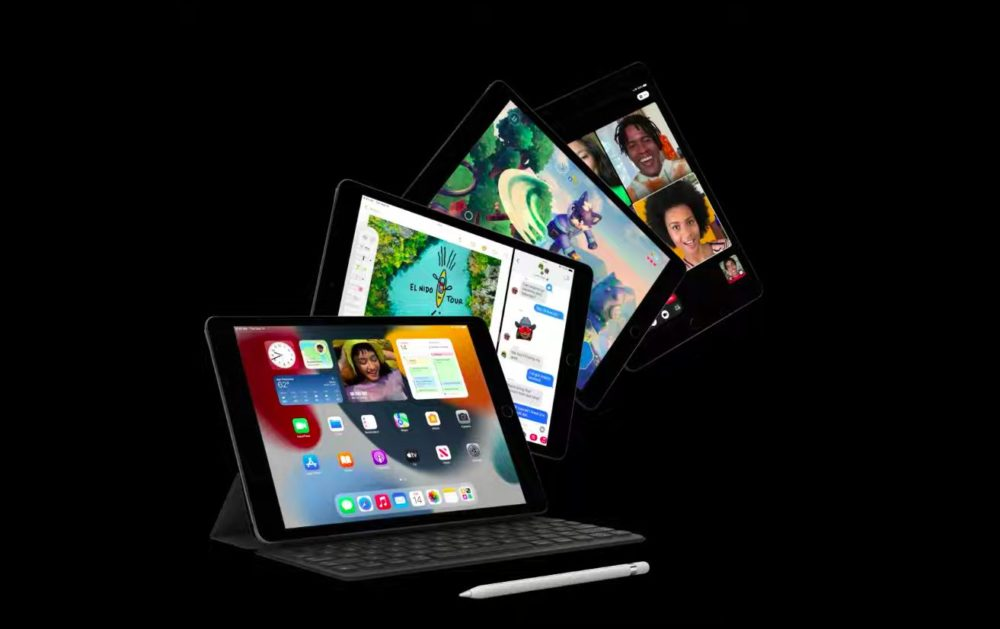 Apple iPad 9 Apple présente liPad 9 : puce A13, Center Stage, TrueTone, Smart Keyboard, Apple Pencil 1re génération...