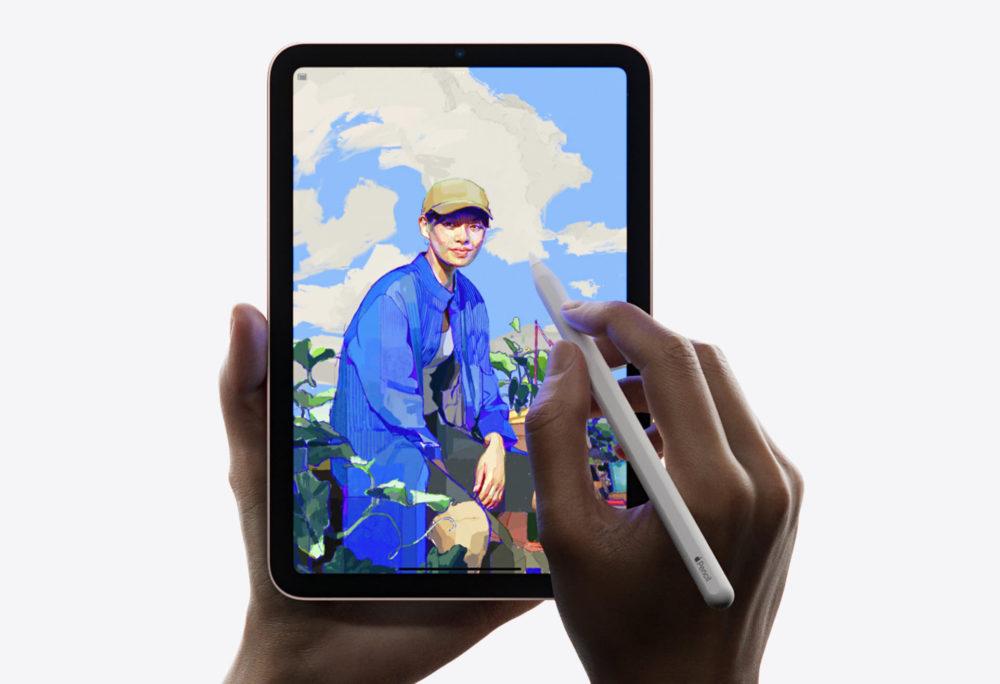 Apple iPad mini 6 Apple Pencil Le défilement « élastique » de lécran de liPad mini 6 est un comportement normal, dit Apple