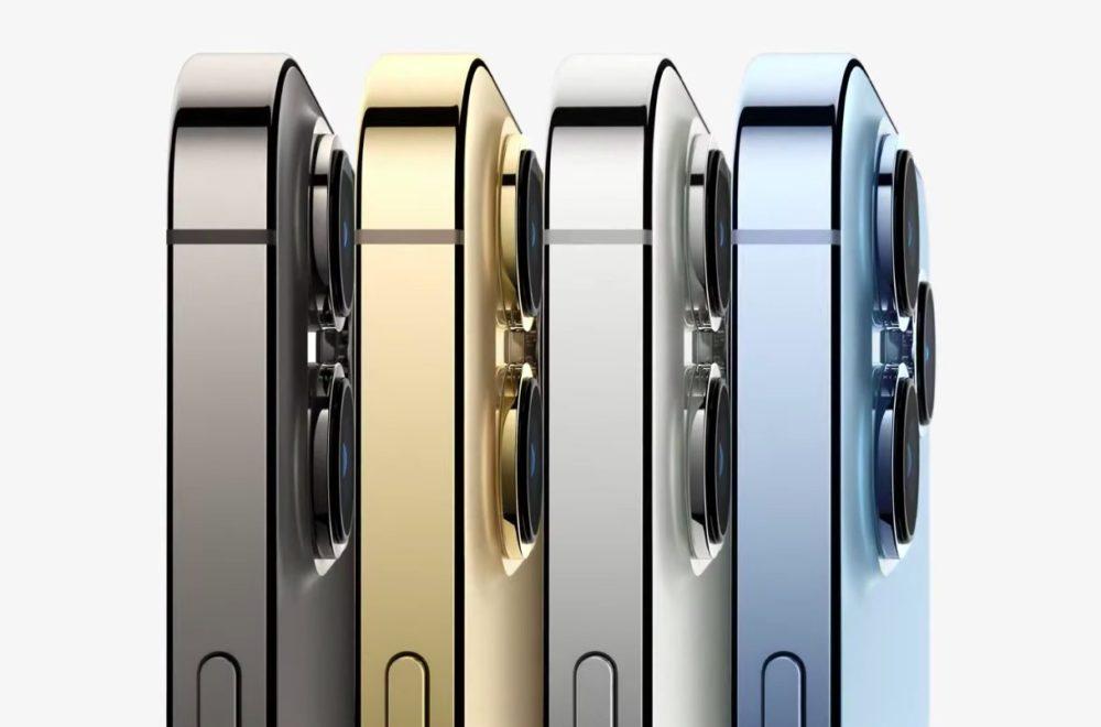 Apple iPhone 13 Pro iPhone 13 Pro Max Coloris Voici liPhone 13 Pro et 13 Pro Max : encoche réduite, puce A15, écran ProMotion 120 Hz, du nouveau pour la vidéo...