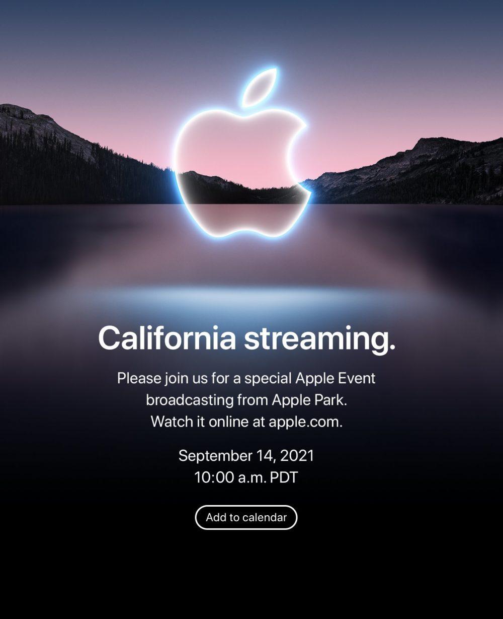 Apple annonce officiellement une keynote pour le 14 septembre pour présenter liPhone 13