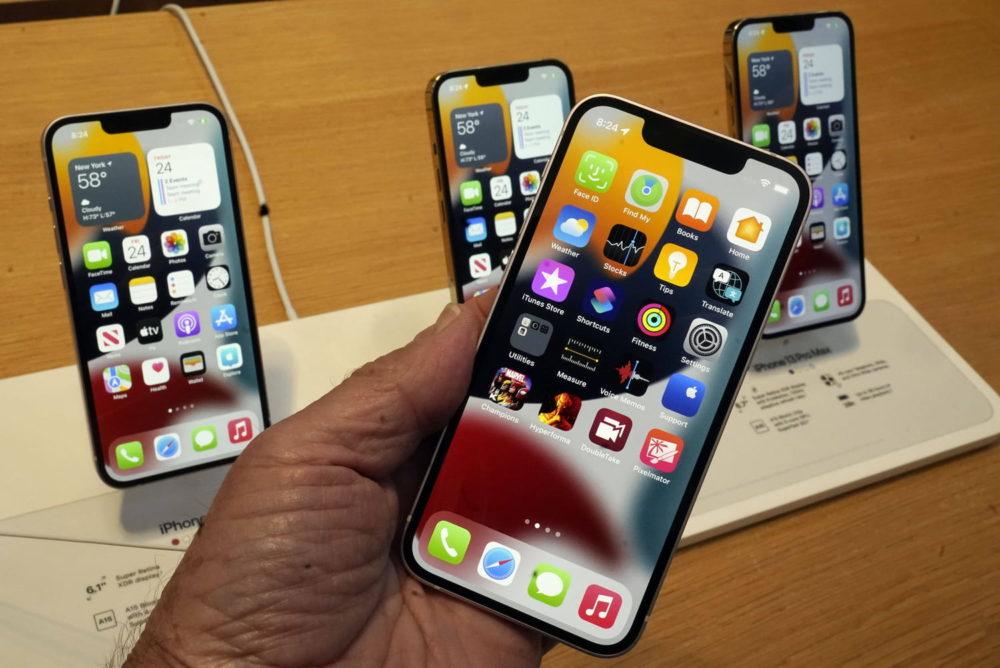 iPhone 13 Apple Store Un test vidéo montre que les iPhone 13 jouissent dune très bonne autonomie