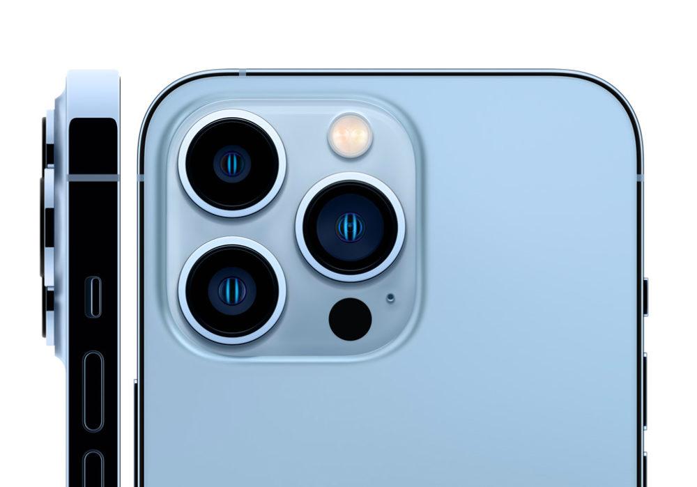 iPhone 13 Pro Max iPhone 13 Pro Appareil Photo Selon DxOMark, liPhone 13 Pro est le 4e meilleur smartphone en photo