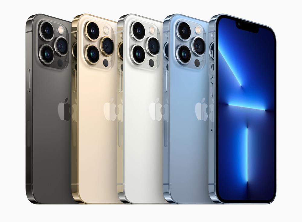 iPhone 13 Pro iPhone 13 Pro Max Coloris Le coût de production de liPhone 13 Pro est en légère hausse comparé à liPhone 12 Pro
