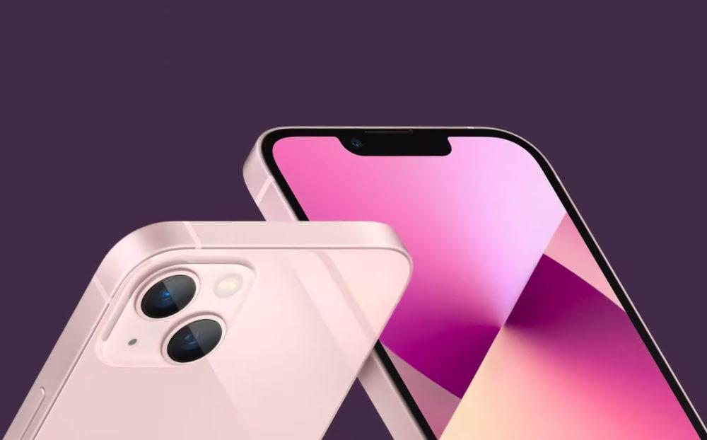 iPhone 13 iPhone 13 mini Cameras Encoche Apple annonce liPhone 13 et iPhone 13 mini : encoche plus petite, mode portrait pour la vidéo, puce A15...