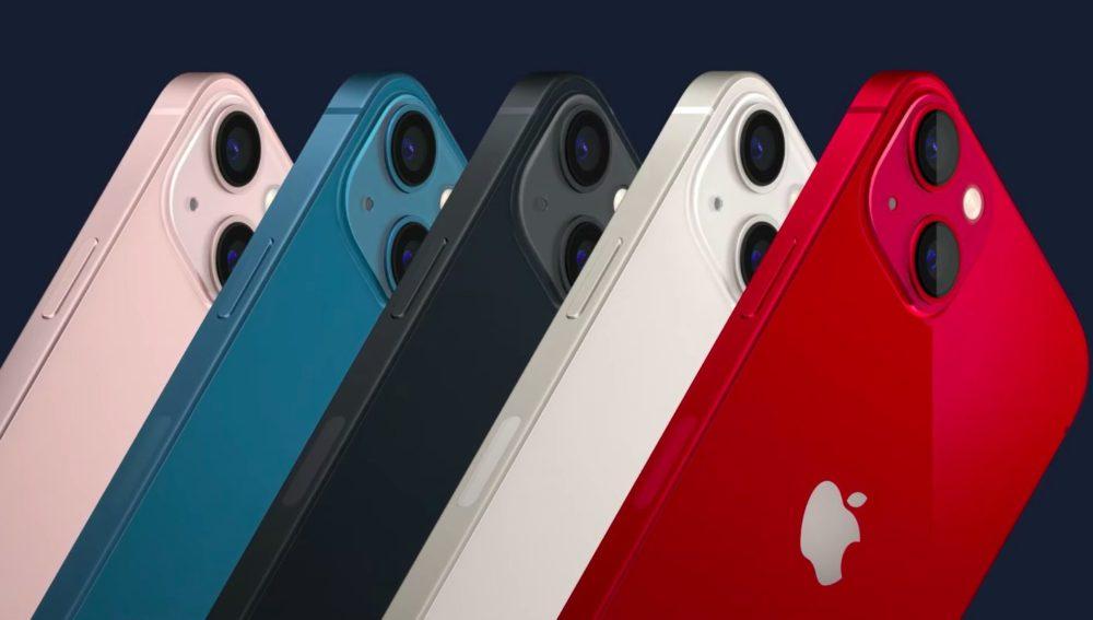 iPhone 13 iPhone 13 mini Coloris Apple annonce liPhone 13 et iPhone 13 mini : encoche plus petite, mode portrait pour la vidéo, puce A15...