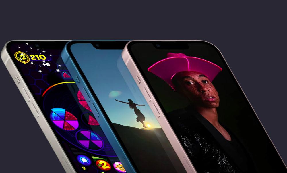 iPhone 13 iPhone 13 mini Ecran Encoche Apple annonce liPhone 13 et iPhone 13 mini : encoche plus petite, mode portrait pour la vidéo, puce A15...