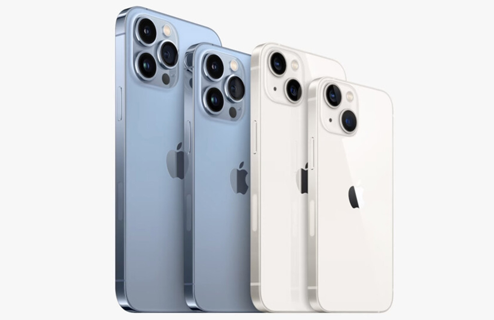 iPhone 13 mini iPhone 13 Pro Max iPhone 13, 13 mini, 13 Pro et iPhone 13 Pro Max : voici les prix en euros