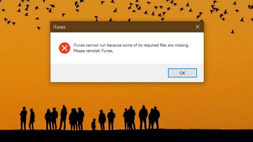 iTunes 12.12.06 Windows Bug Depuis la dernière mise à jour, iTunes sur Windows ne souvre plus si la langue du système nest pas langlais