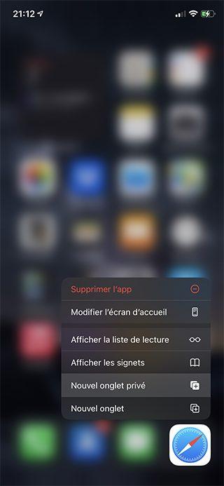 iphone safari icone La Navigation privée Safari sur iPhone et Mac