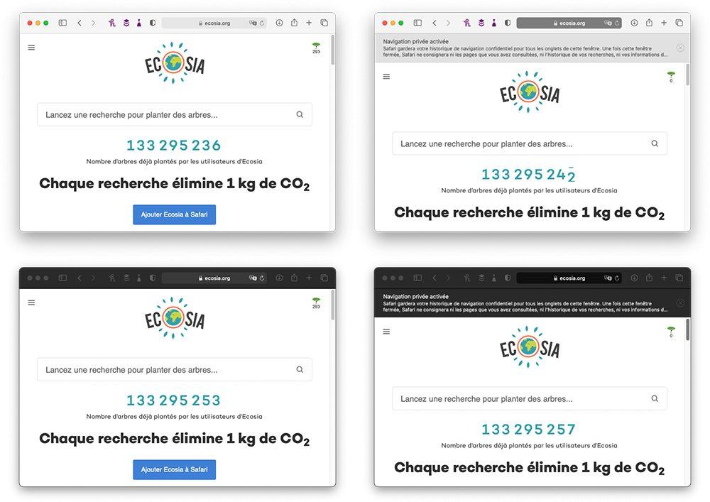 macos safari avec sans navigation privee La Navigation privée Safari sur iPhone et Mac