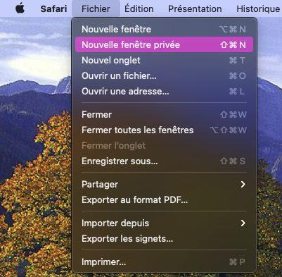 macos safari fichier fenetre privee La Navigation privée Safari sur iPhone et Mac