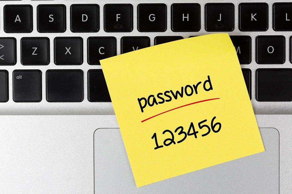 password post it simple Comment créer un mot de passe sécurisé