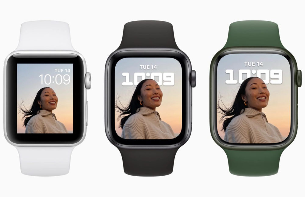 Apple Watch Series 3 7 SE Apple publie watchOS 8.0.1 et corrige deux bugs sur lApple Watch Series 3