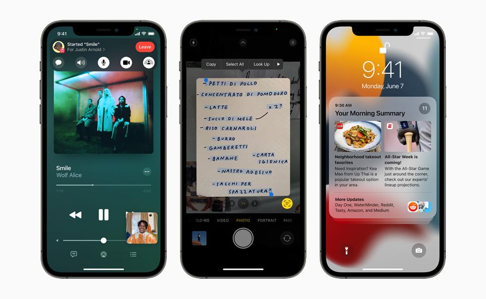 Apple iPhone 12 Pro iOS 15 iOS 15.1 et iPadOS 15.1 : Apple propose la bêta 4 développeurs
