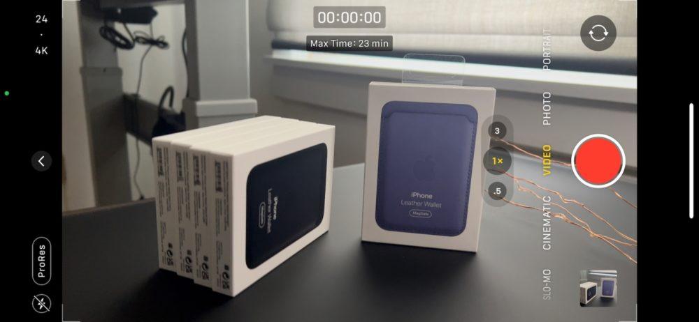iOS 15.1 bêta 3 active le ProRes pour les vidéos des iPhone 13 Pro et 13 Pro Max