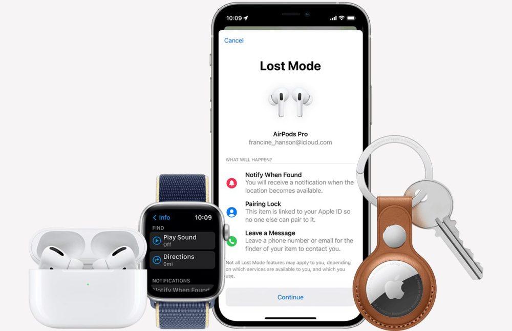Reseau Localiser Apple Apple ajoute le support de son réseau Localiser aux AirPods Pro et aux AirPods Max