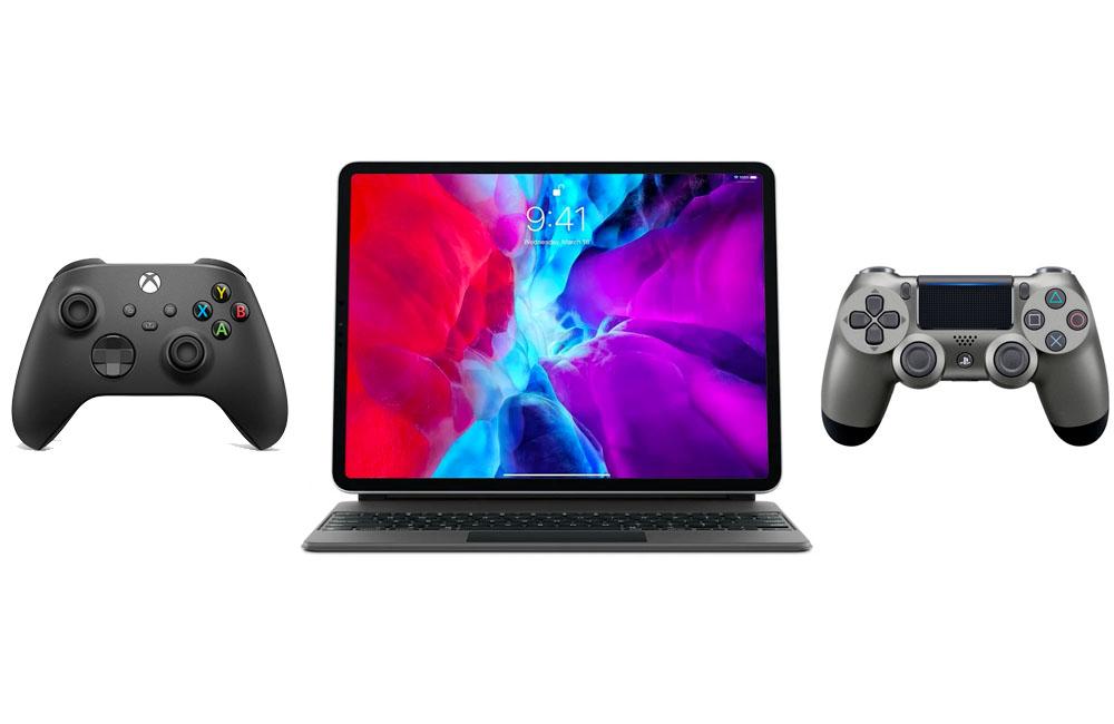 ipad manette console ps xbox Comment connecter une manette de PS4, PS5 ou de Xbox sur vos appareils Apple