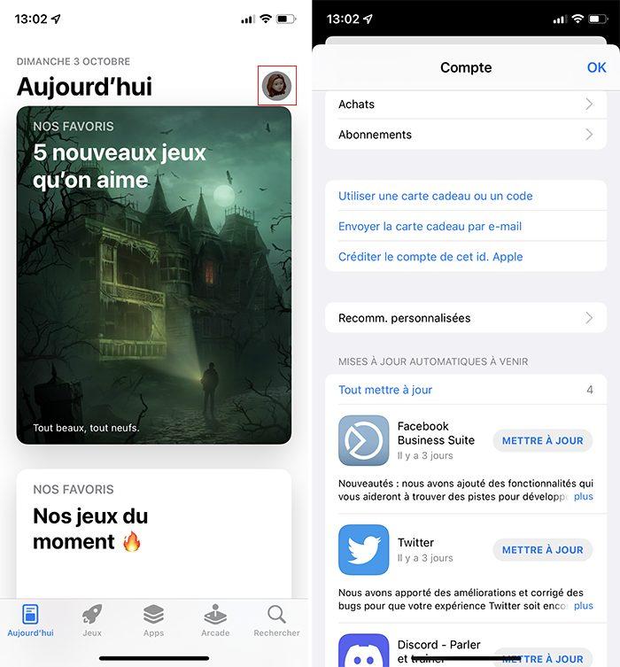 iphone app store maj Comment débloquer un iPhone qui ne répond plus