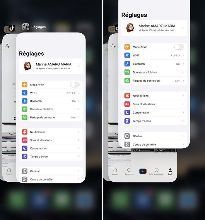 iphone fermer app Comment débloquer un iPhone qui ne répond plus
