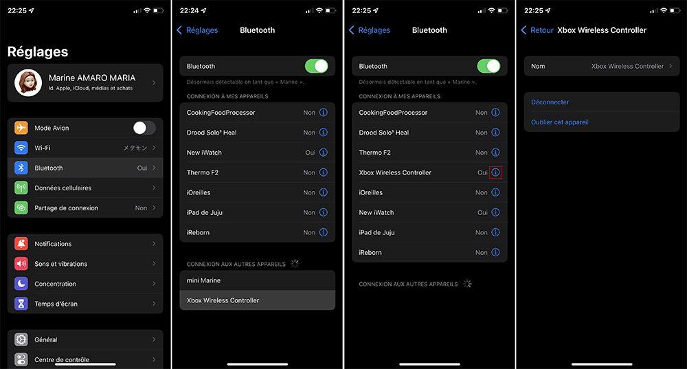 iphone manette bluetooth Comment connecter une manette de PS4, PS5 ou de Xbox sur vos appareils Apple