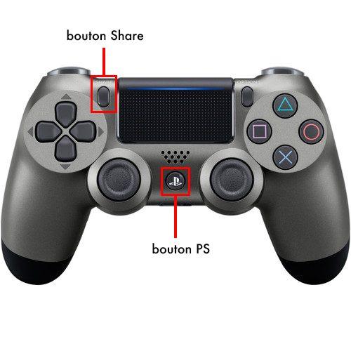 manette ps bouton jumelage Comment connecter une manette de PS4, PS5 ou de Xbox sur vos appareils Apple