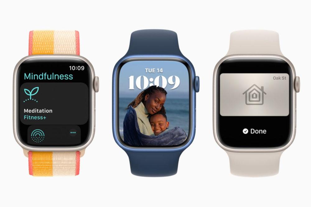 watchOS 8 Apple Watch Series 7 Le stock de lApple Watch Series 7 serait limité lors des précommandes
